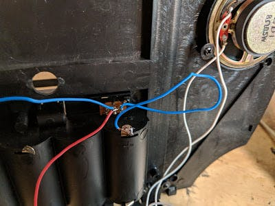 Re-wiring the switch to act as on/off switch