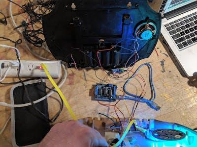 Billy Bass + Alexa, functional but not yet assembled.