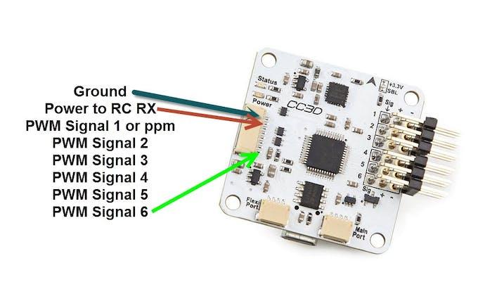 CC3D flight controller boards