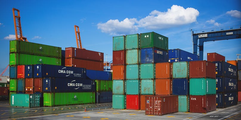 """""""Smart Container App"""" with NB-IoT, Node and Pusher"""