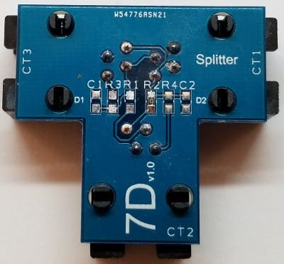 Splitter configuration