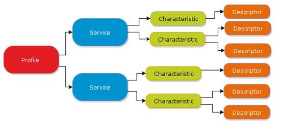 GATT database structure