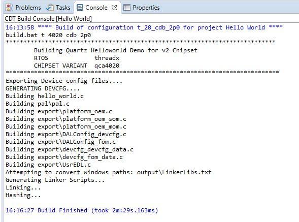 QCLI_Demo w/ QCA4020 Dev Kit - Hackster io