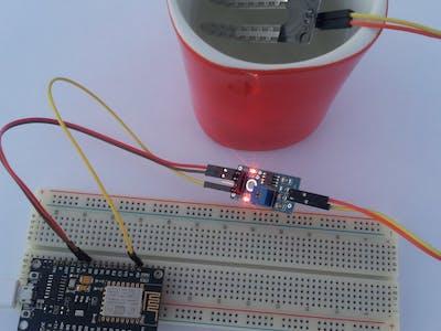 Connecting Soil Moisture Sensor & ESP8266 to AskSensors IoT