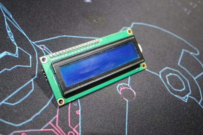 LCD i²c display