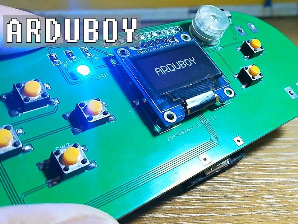 Handheld Gaming Console - Arduboy Clone