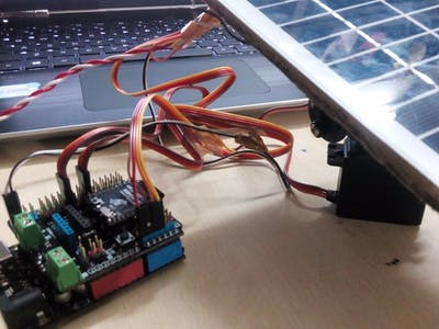 Sunflower - Arduino Solar Tracker