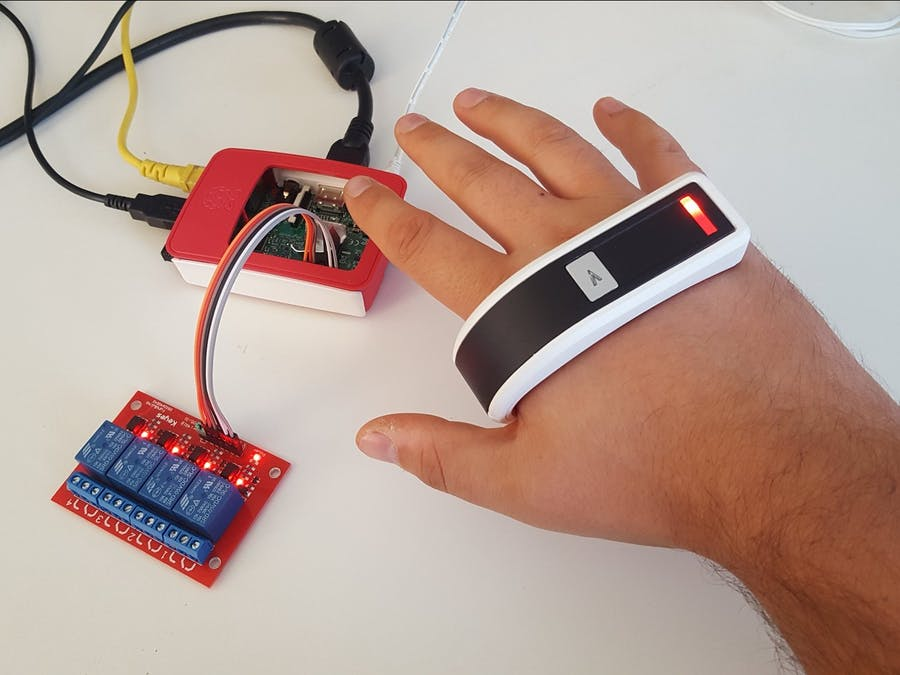 Raspberry Pi Home Automation with Gestures