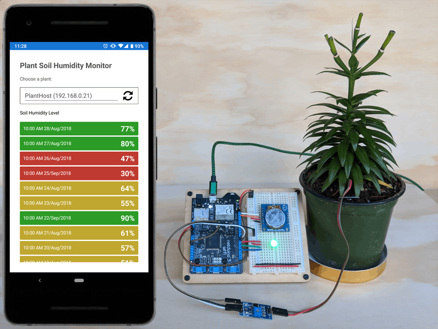Monitor a Plant's Soil Moisture with Netduino and Xamarin!