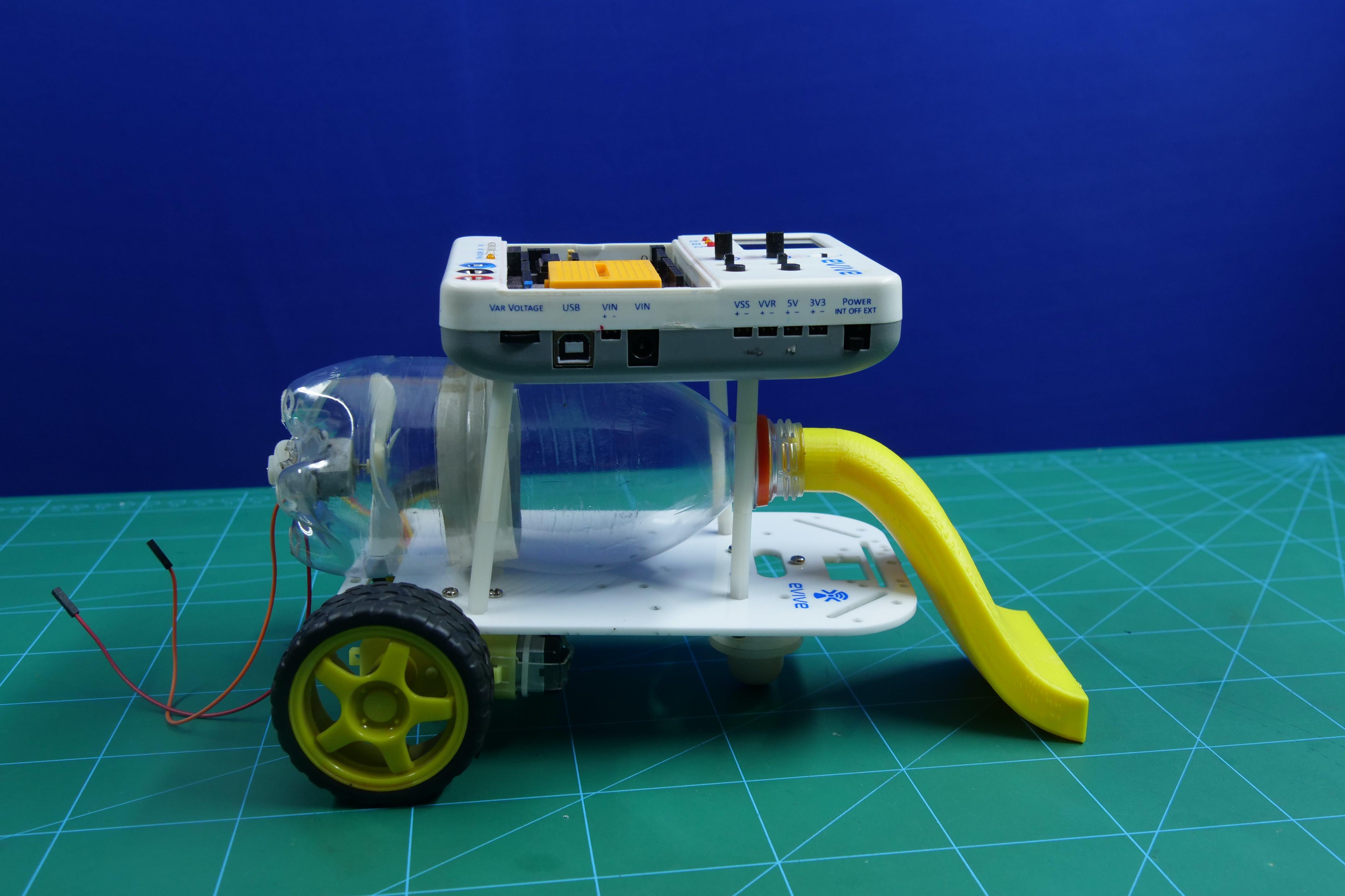 Smartphone Controlled Robotic Vacuum Cleaner Using Arduin...