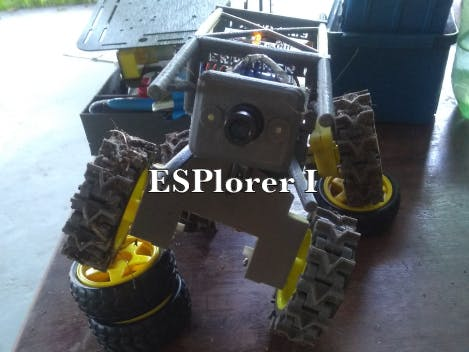 ESPlorer I - Arduino Off-Road Robot
