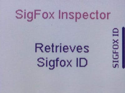 Sigfox Click module ID & PAC retrieval with NXP Rapid IoT