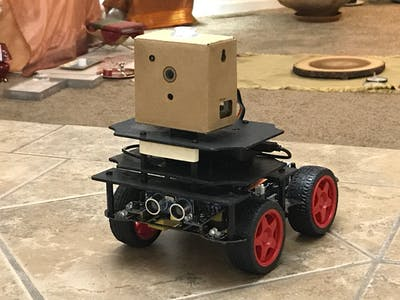 Autonomous Rover - Google Vision AIY Kit on Wheels