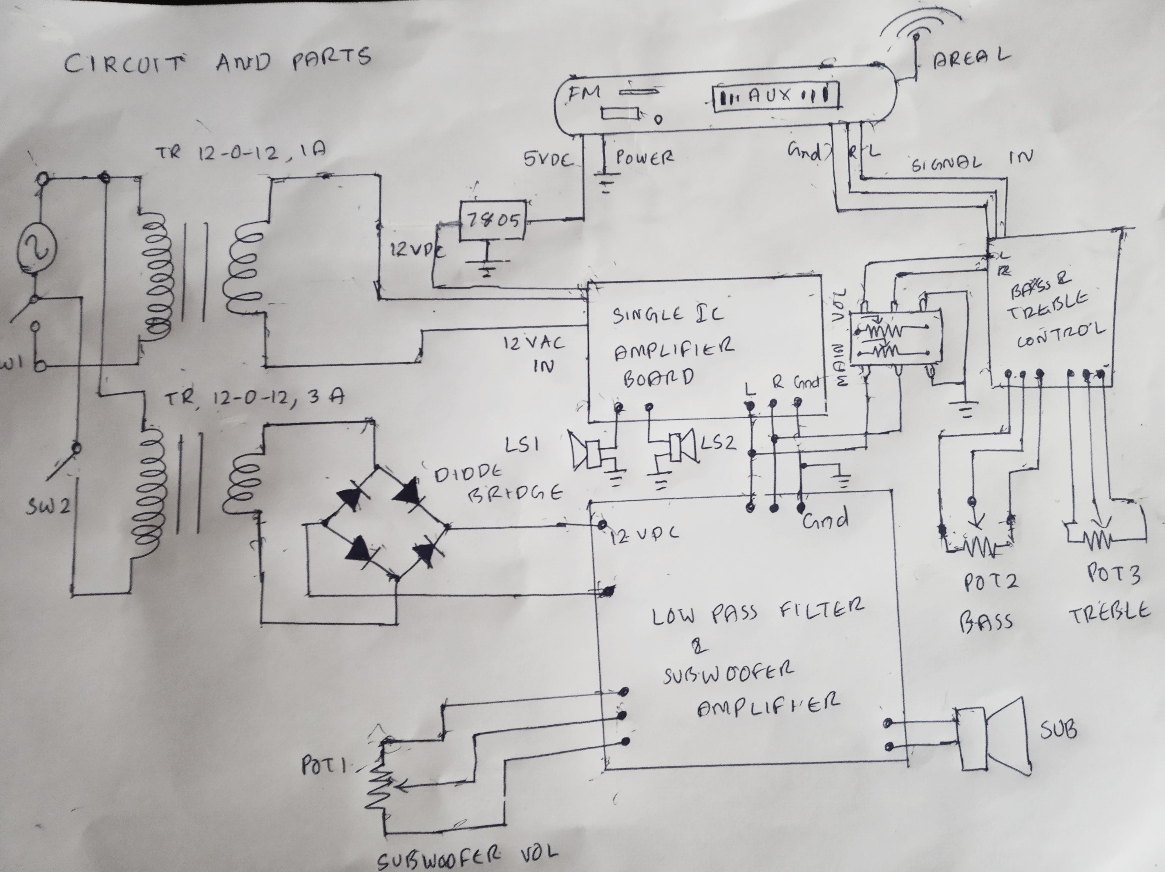 Diy Boombox Wiring Diagram Get Free Image About Wiring Diagram