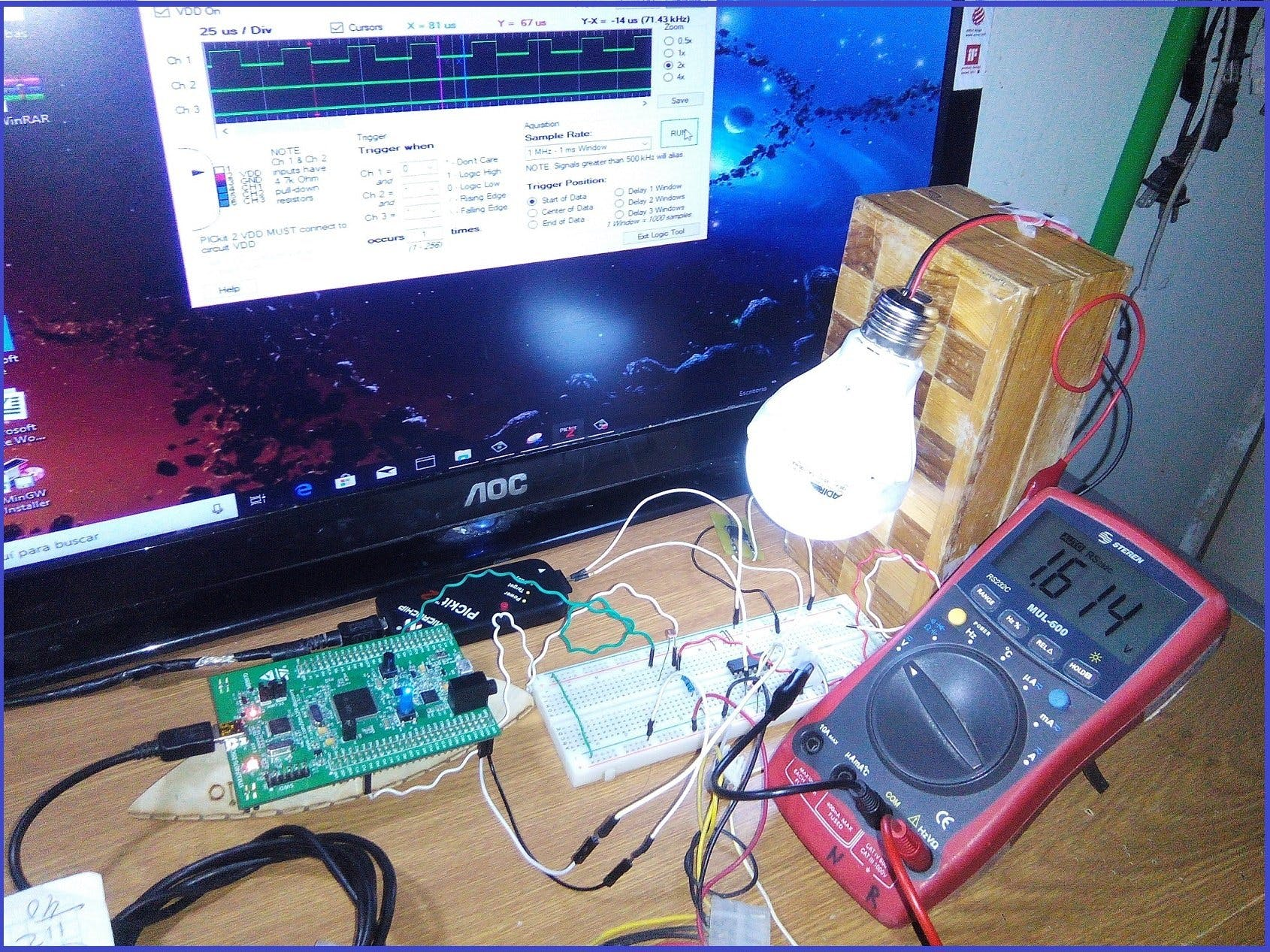 PID Light Meter Controller