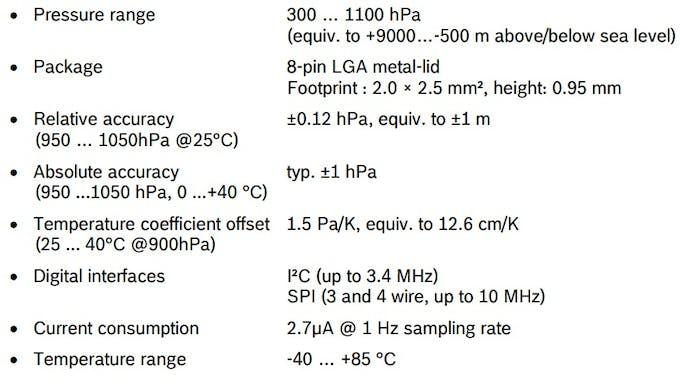 BMP280 information