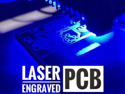 How to Make a Custom PCB Using a Low Power Laser Engraver - Hackster io