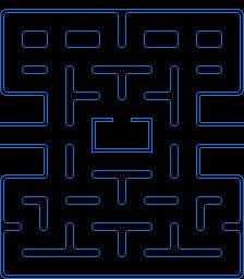 The original Pacman map