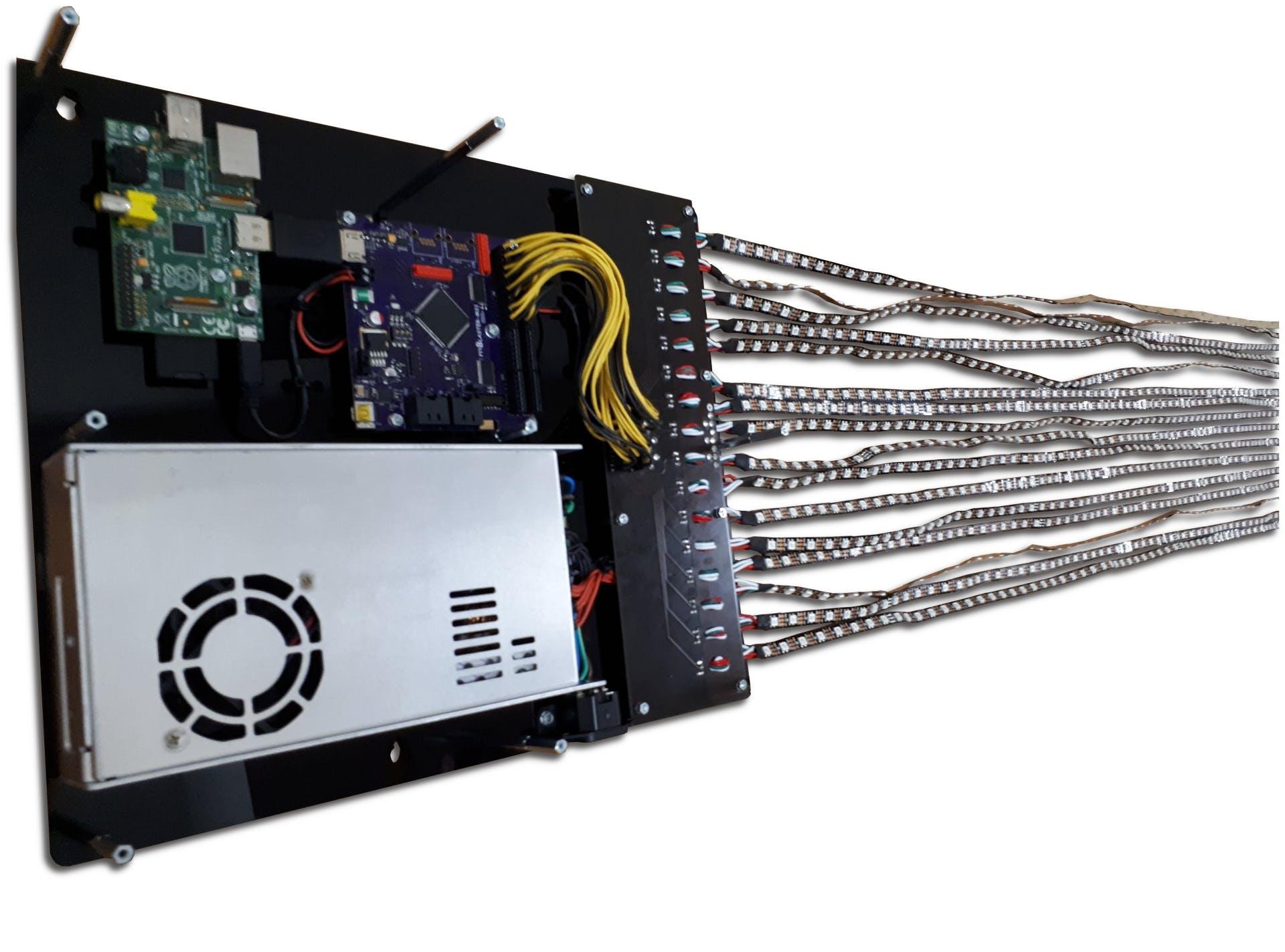 Figure 1: Pixblasters-Light Micro Demo Video LED DIsplay