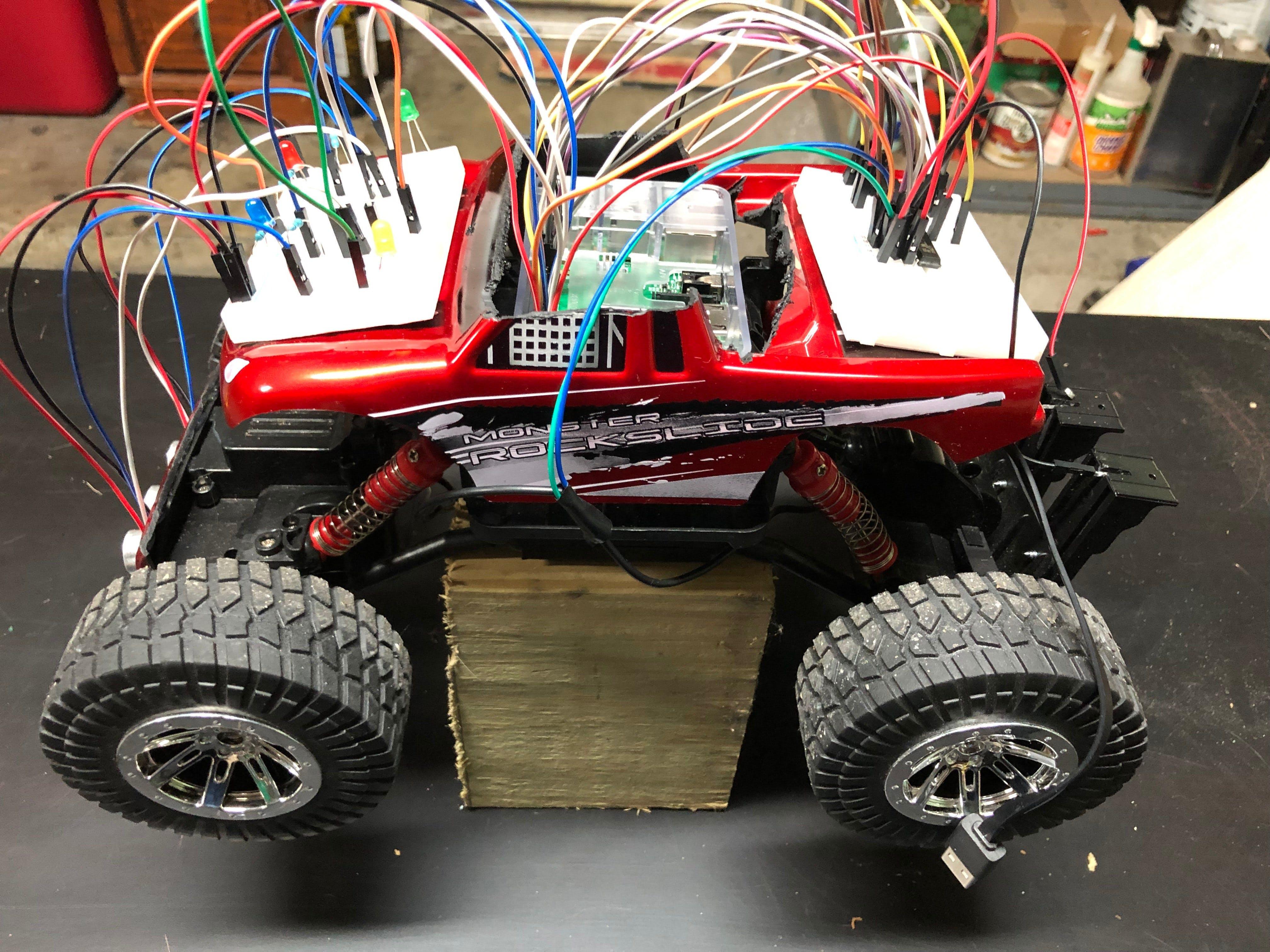 Raspberry Pi Autonomous RC Car