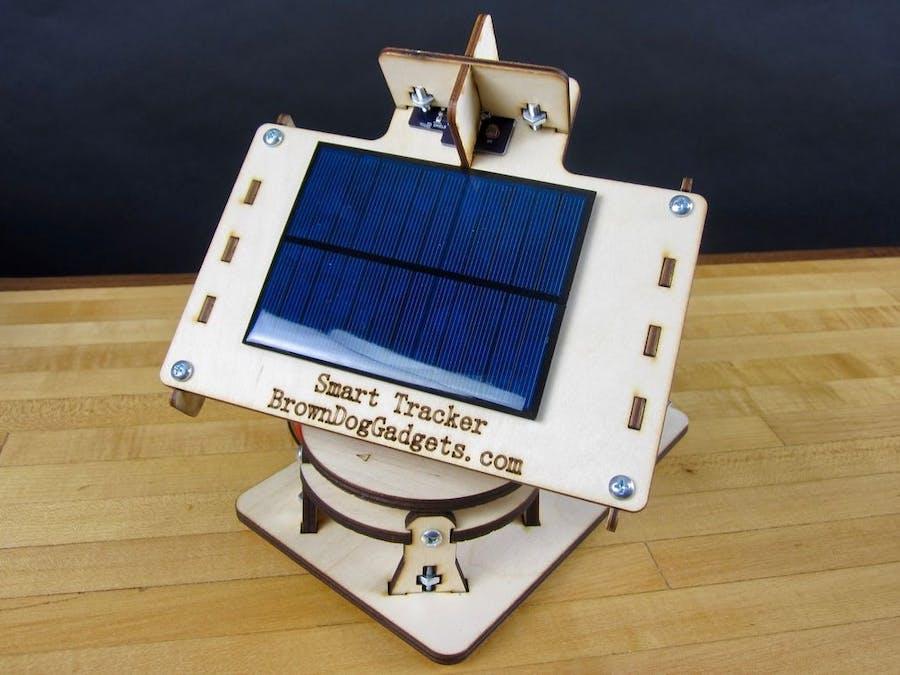 Solar Tracker V2 0 - Arduino Project Hub