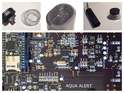 AquaAlert - A smoke alarm but for water