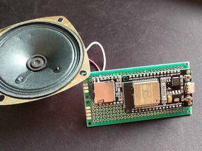 WiFi Doorbell with ESP32 and DFPlayer