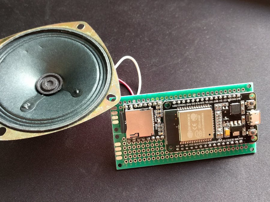 WiFi Doorbell with ESP32 and DFPlayer - Hackster io