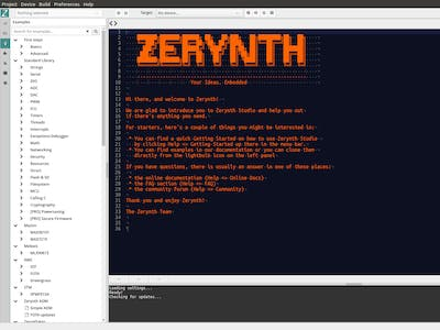 Python and C Blended Programming on ESP32 using Zerynth