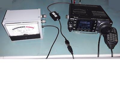 External S-Meter on Icom Radios with CI-V Port