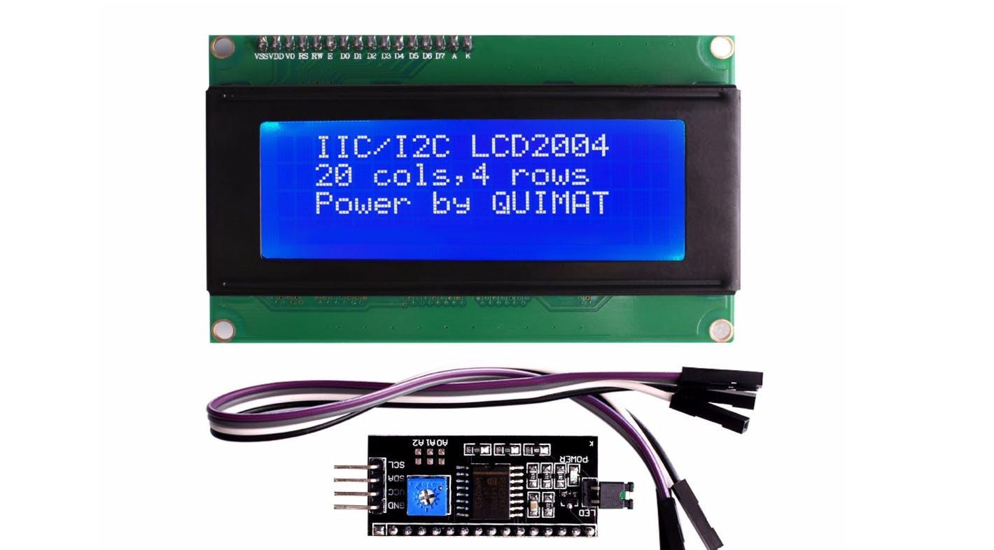 Display + I2C module