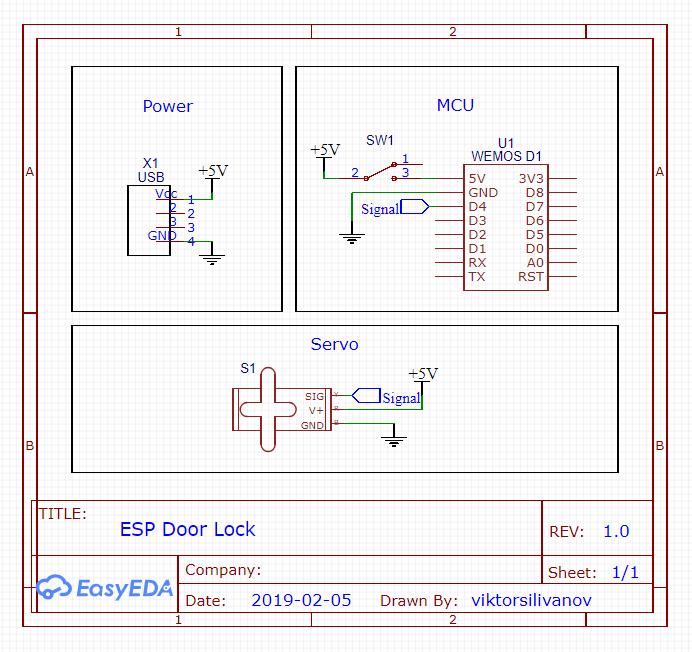 IoT Door Lock Using ESP8266 - Hackster io
