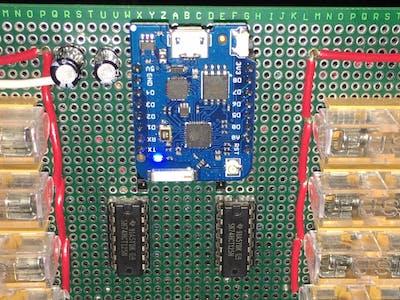 ESP8266 E1.31 Multiplexing Pixel Controller