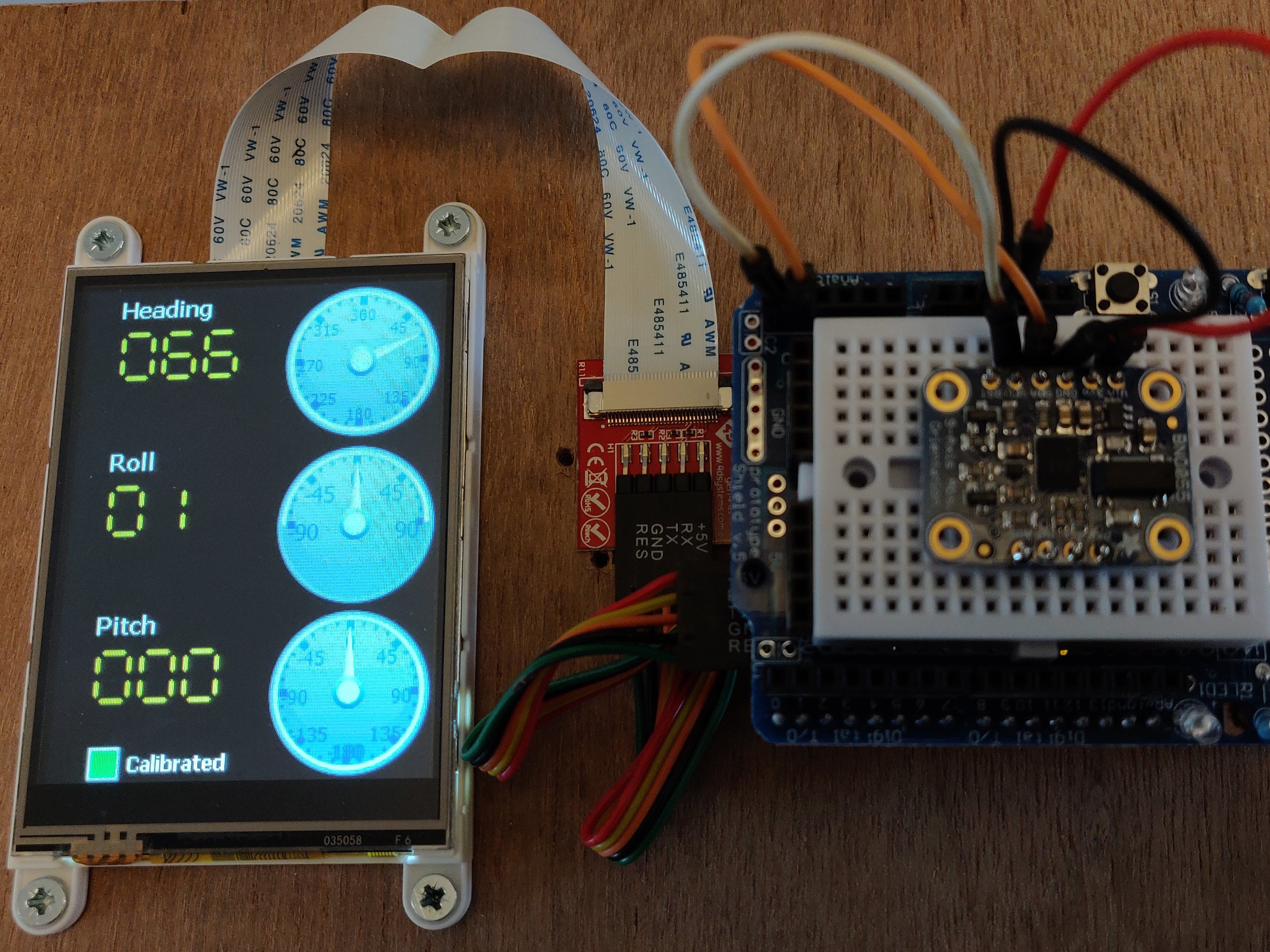 An XOD Library for the BNO055 Absolute Orientation Sensor