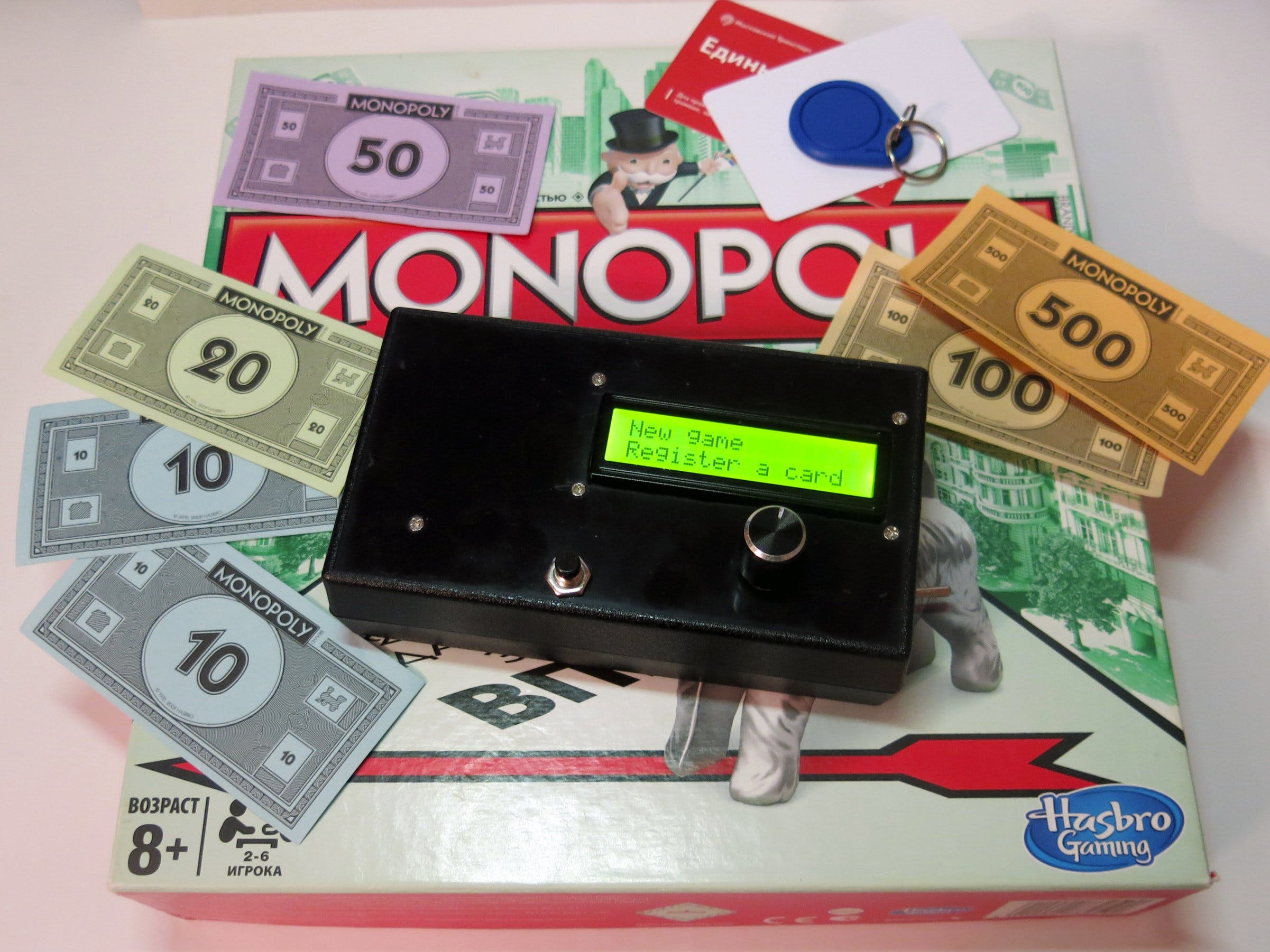 Payment Module for Monopoly Game