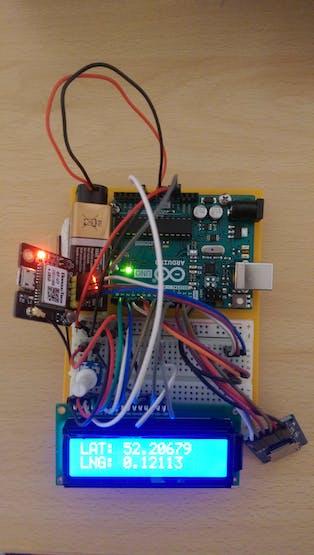 Prototype GPS Tracker