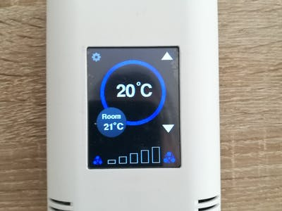 ESP8266 Modbus Thermostat with Touch