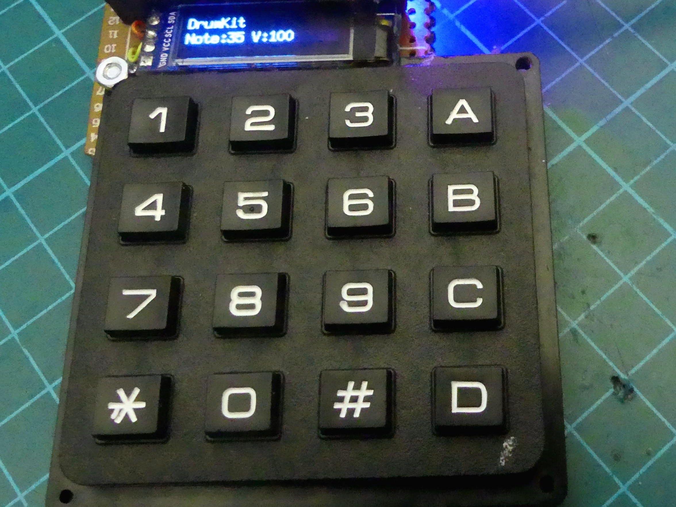 Midi Keypad