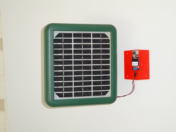 18V 3.5W Solar Panel with Buck Converter
