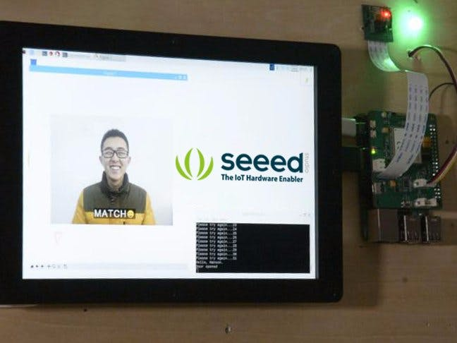 Face Recognization Smart Lock with LTE Pi HAT - Seeed Project Hub