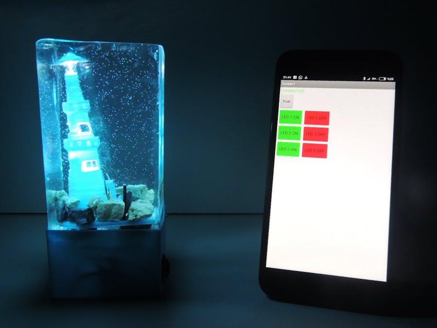 Night Lamp Using Arduino & Epoxy Resin