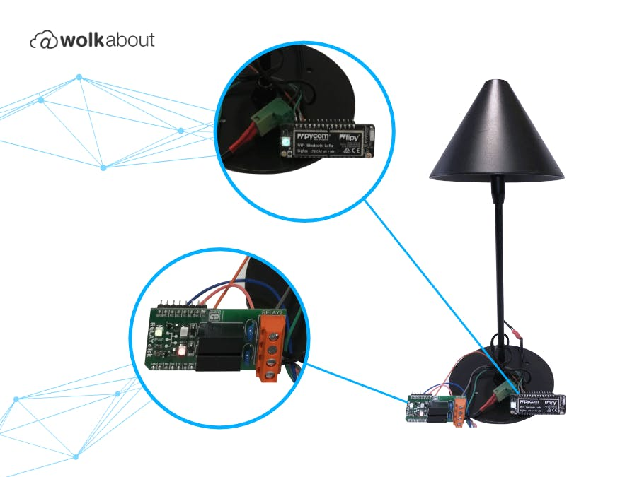 Remote Control Light Switch Using IoT Technology