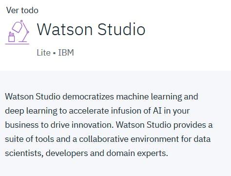Watson Studio #1
