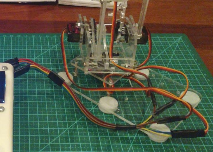 Keep wiring organized!