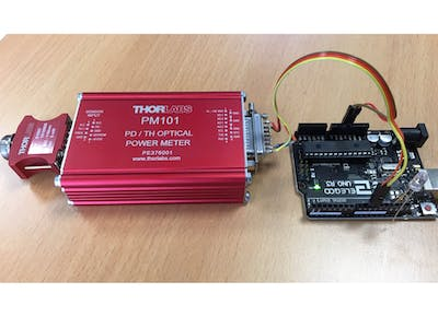 Thorlabs PM101 Serial Powermeter
