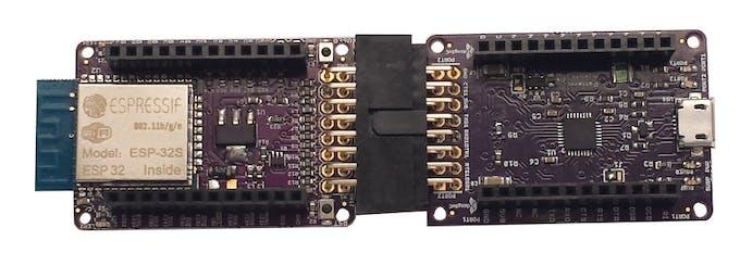 ESP32 Wi-FI with USBUART2