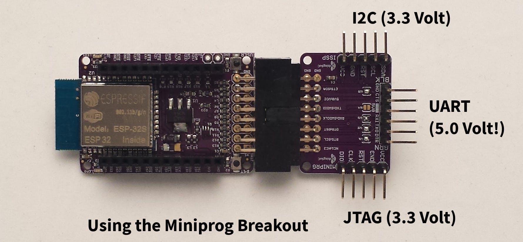 ESP32 with JTAG Breakout