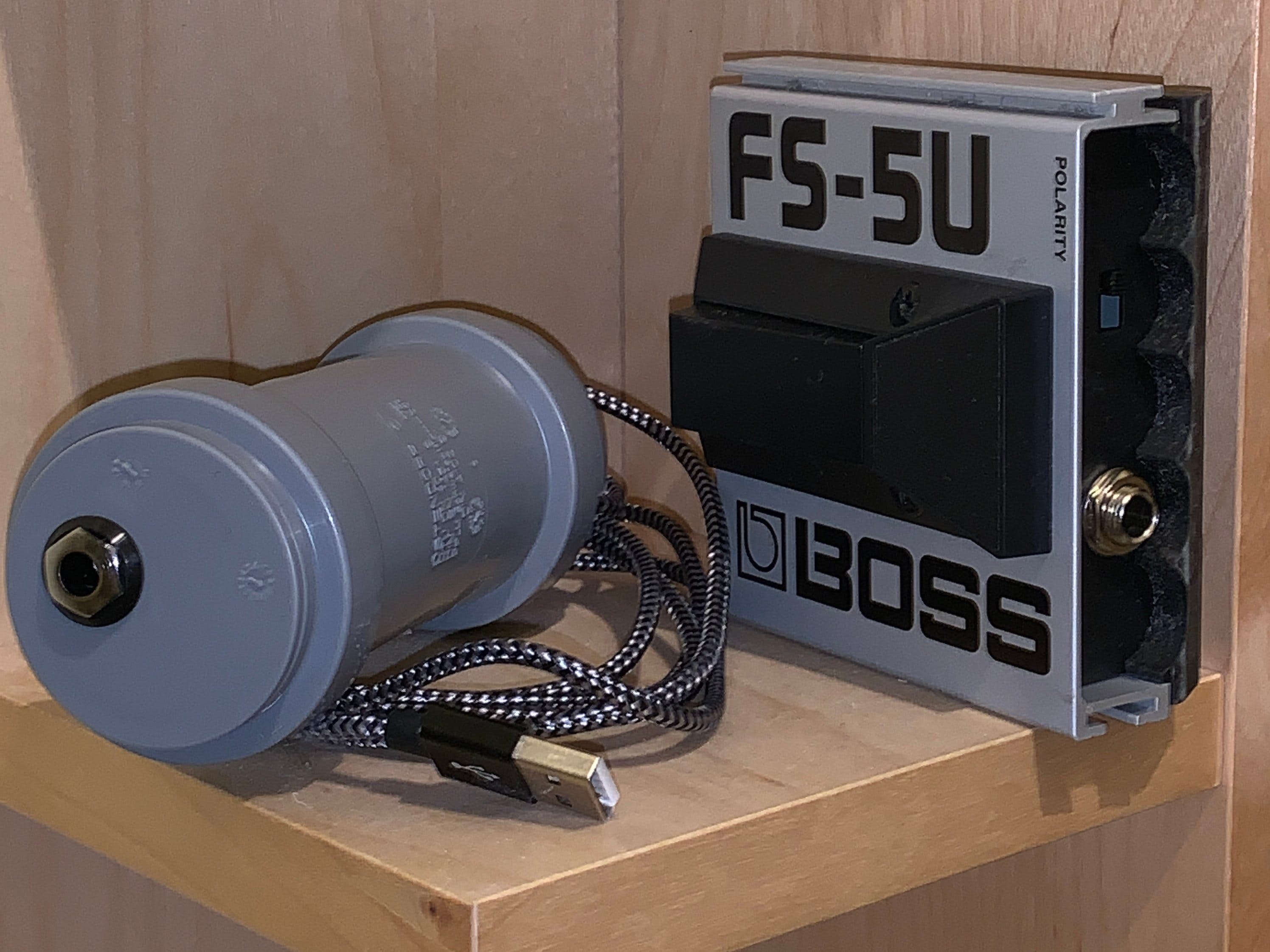 USB Footswitch from Boss FS-5U, 6U and Similar