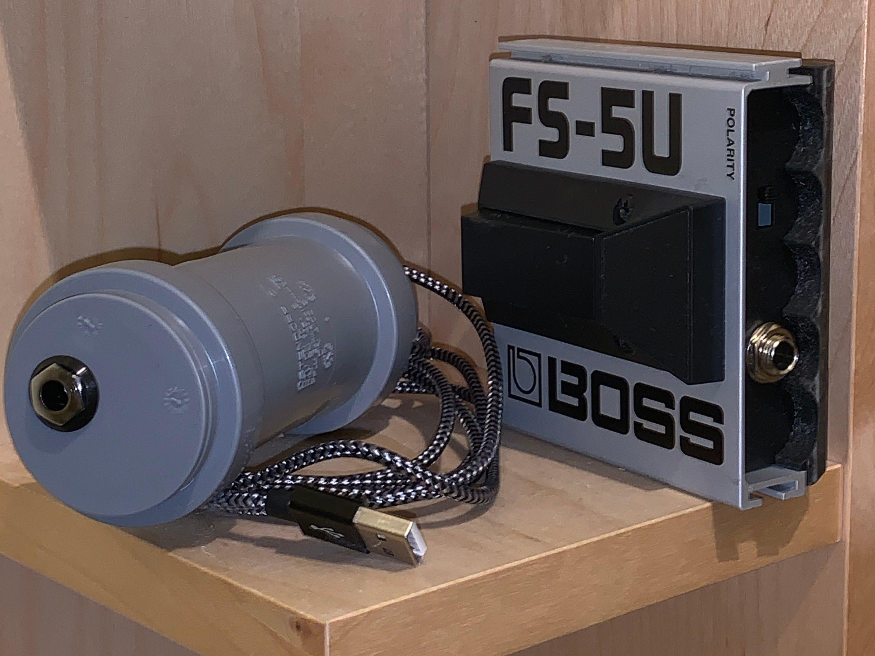 USB Footswitch from Boss FS-5U, 6U and Similar