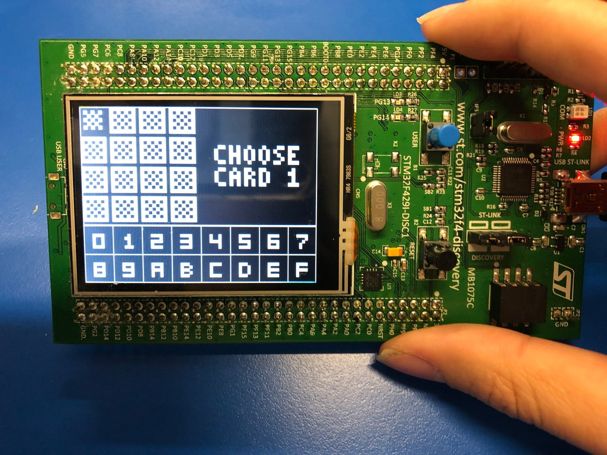Chip-8 Emulator on STM32F429-Discovery